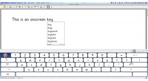 Onscreen Keyboard Clicker 6
